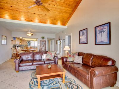 Photo for Beachfront Condo with Private Balcony and Unblocked Views! Onsite Pools, Fitness