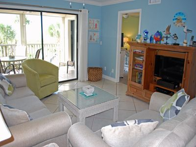 Photo for Gulf Beach 102, 2 Bedroom, 2 Bathroom Condo With Gulf Front View