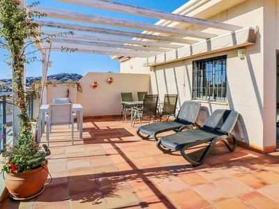 Photo for Caparil Penthouse, 2 bedroom with private roofterrace
