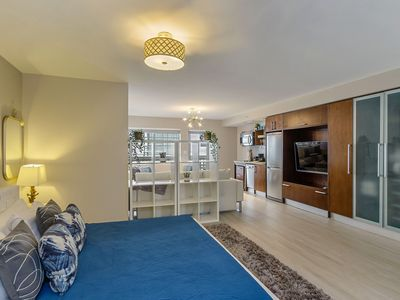 Photo for Newly renovated Ocean Drive Studio, 1 King bed 2 Sofa Beds fits 6!