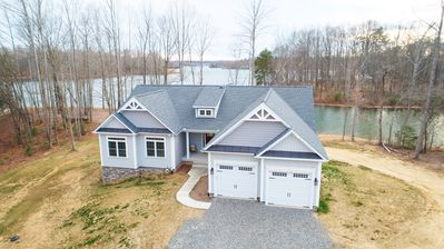 Photo for Amazing view! 500 ft waterfront - Awesome Boathouse & Private Beach -7 bedrooms