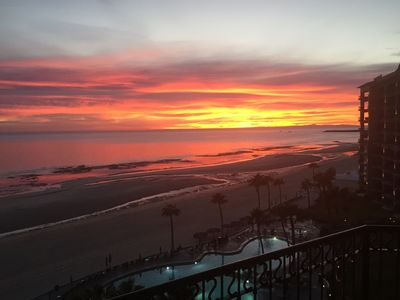 Photo for Breathtaking Sunsets Just Steps From The Sand & Sea On Beautiful Sandy Beach