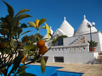 Photo for Luxury Trullo With Private Pool In Great Location To Explore The Area