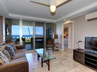 Photo for Beautiful Ground Floor 2 BD Unit - Starts @ $395.00/night - Royal Mauian #116