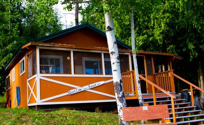 Photo for Adams Lake Waterfront Cabin