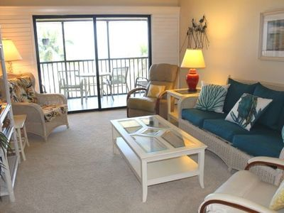Photo for Ocean's Reach - Unit 1C4 - Directly Beachfront!