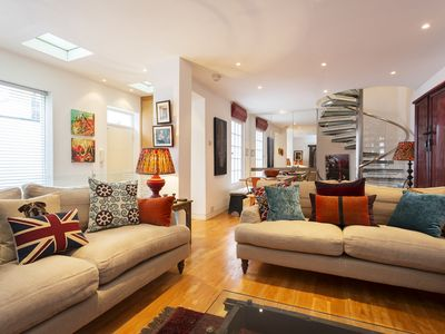 Photo for UP TO 20% OFF - Fun 3 bed property, located in fashionable Kensington (Veeve)