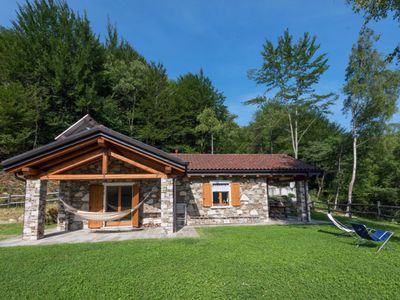 Photo for An oasis in the middle of nature: Tastefully furnished 3-room stone house with swimming pond