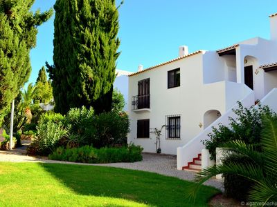 Photo for An apartment with sea view within walking distance of the beach, swimming pool and Albufeira