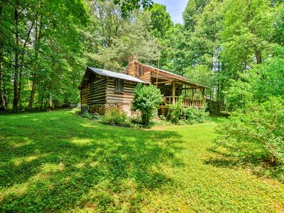 Photo for Private & Cozy 2BR Dobson Cabin on 6 Acres of Land