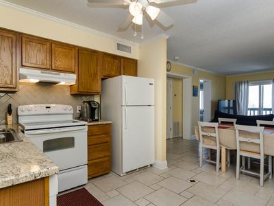 Photo for Top floor 2 bedroom condo only blocks from the North End Fishing Pier