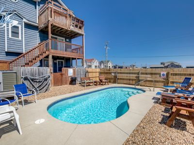 Photo for Park Place | 59 ft from the beach | Private Pool, Hot Tub