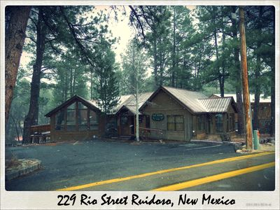 Photo for LUXURY MULTI FAMILY MIDTOWN RUIDOSO 4 Bdrm 3 Bath on the RIVER Steps From DWNTWN