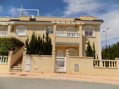 Photo for Three Bedroom Two Bathroom, First floor apartment, communal pool, WiFi, Tennis.