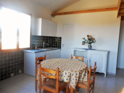 Photo for Apartment for 4 / 5P at 3km from the beach of ste marie the sea and in the countryside