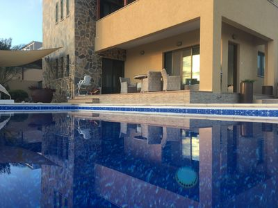 Photo for Fantstic Panoramic sea view. Big private pool , landscaped garden . Free - WiFi
