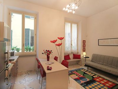 Photo for One bedroom Apartment, sleeps 4 in Florence with Air Con and WiFi