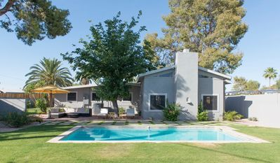 Photo for Mid Century Modern Historic with Heated Pool In Old Town Scottsdale