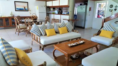 Photo for PEACEFULL AND SAFE BEACHFRONT TOWNHOUSE IN THE PACIFIC MOST BEAUTIFUL BEACH IN