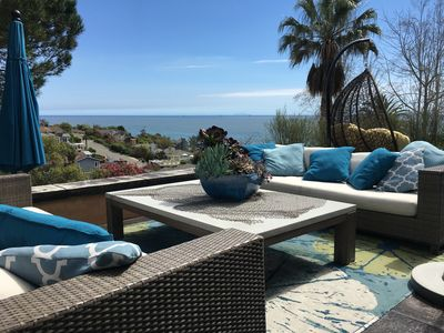 Photo for Spectacular Ocean View Villa! Minutes to the Beach & Wine Tasting!Near Montecito