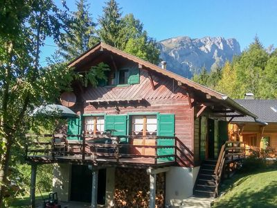 Photo for Vacation home Le Penoutlay in Samoëns - 6 persons, 3 bedrooms