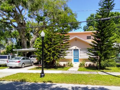 Photo for Historic! Blue door 2 story Old Florida home close to everything fun.