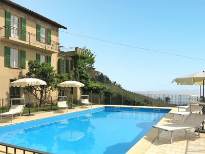 Photo for Stunning private villa for 8 guests with WIFI, pool, TV, balcony and parking