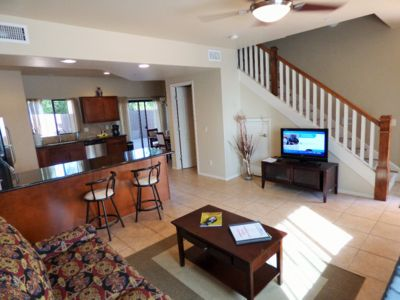 Photo for Beautiful Vacation Townhome Rental, 2 Master Bedrooms, Red Rock View