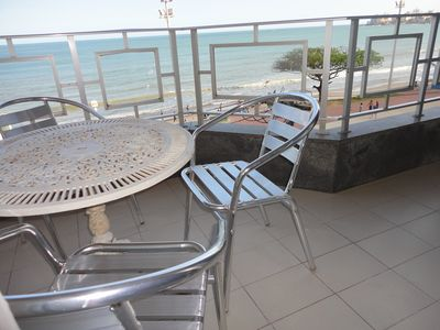 Photo for EXCELLENT APPARTMENT OF FRONT TO SEA 3 qtos with Balcony