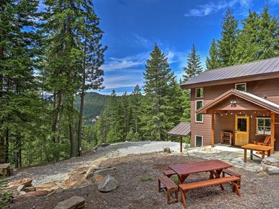 Photo for Secluded Leavenworth Cabin w/Mtn Views & Fire Pit!