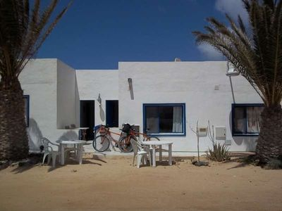 Photo for Apartment CUCUMIS in La Graciosa for 2 persons with terrace and views to the ocean and with WIFI on the go and less than 20m from the sea