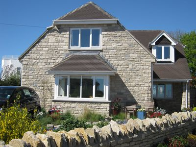 Photo for Yildiz - beautiful detached house in Swanage with stunning sea and hill views.
