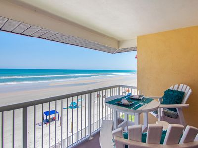 Photo for Spectacular, upscale, oceanfront condo w/ shared pool & beach access