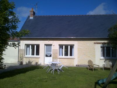 Photo for Character cottage with garden between Bayeux and Port en Bessin.