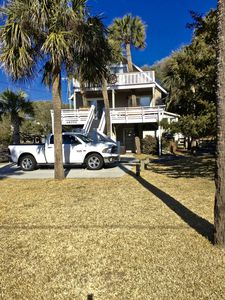 Photo for Welcome to Swell Cottage! Awesome Second Row Folly Beach with great ocean views