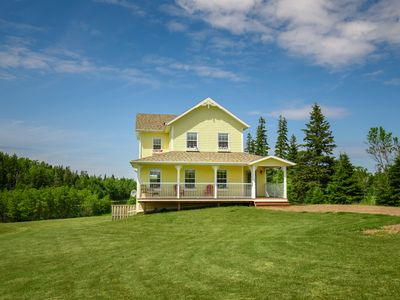 Photo for The Gables of PEI Resort: Cordelia's Cottage with private outdoor Hot tub!