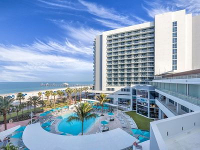 Photo for Beautiful 2 Bedroom 2 Bath Condo at Wyndham Clearwater Beach