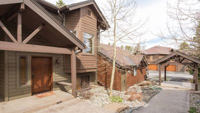 Photo for Luxurious Townhouse with Private Hot Tub - Walk to Ski Lifts & Town
