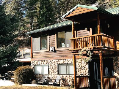 Photo for GORGEOUS Estes Park, Allenspark, Lyons CO 4BR Riverfront Home