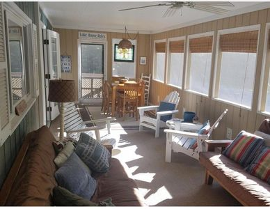 Photo for LOCATION!! 4 bed/2 bath clean cottage - Blocks from Lake Michigan beach