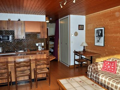 "Photo for Residence ""The Wapiti"" located in the area of Contamines. Residence located near the Crêt Béni ski a"