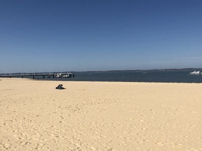 Photo for Arcachon First line elegant T3 view Basin
