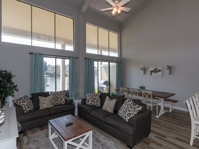 Photo for Beautiful Remodeled Luxury Waterfront Property- 3BR/2.5 bath-Sleeps 13!!