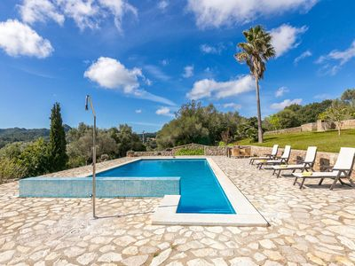 Photo for Fantastic natural stone finca with pool ideal for hiking enthusiasts