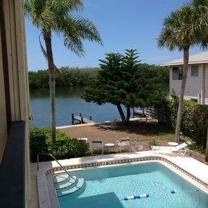 Photo for Water Front on Turtle Lagoon.  Minutes from Turtle Beach & Siesta Key Beach