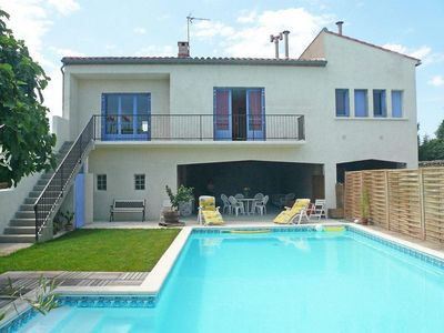 Photo for Typical house of the Corbières with pool in the Cathar country