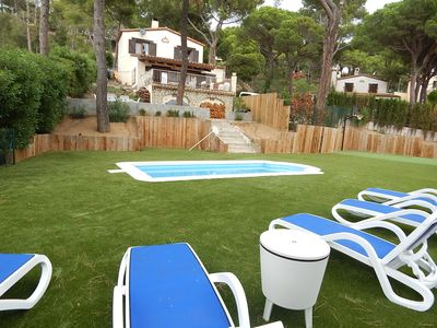 Photo for 8012 - Comfortable Villa with garden and private pool in a residential area