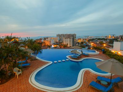 Photo for 1BD Penthouse for rent in Old Town, Puerto vallarta