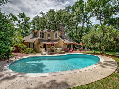 Photo for Available for Heritage! 22 Red Maple,Private Pool, Walk to Beach, Golf Views