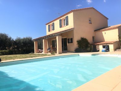 Photo for House with swimming pool at the foot of Sainte Victoire